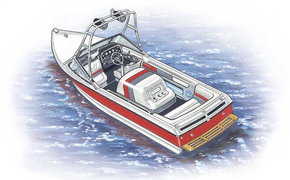Installating stereo gear in a MasterCraft boat