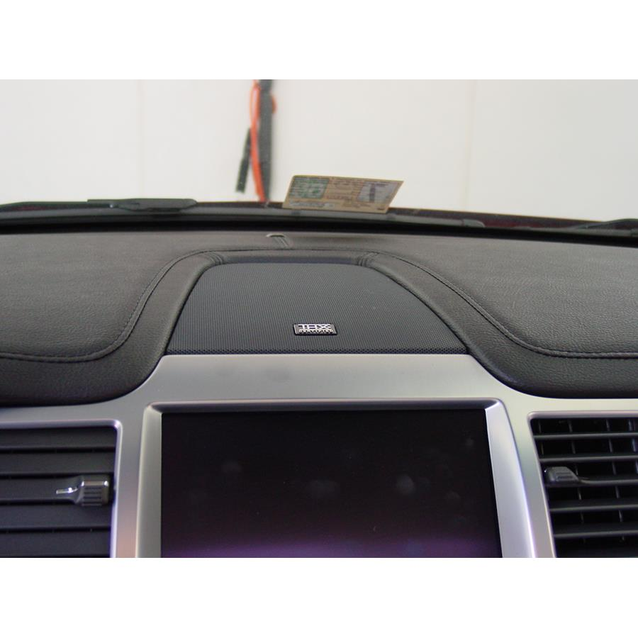 2009 Lincoln MKS Center dash speaker location