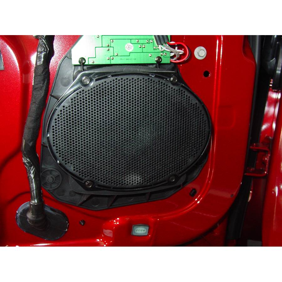 2009 Lincoln MKS Front door speaker