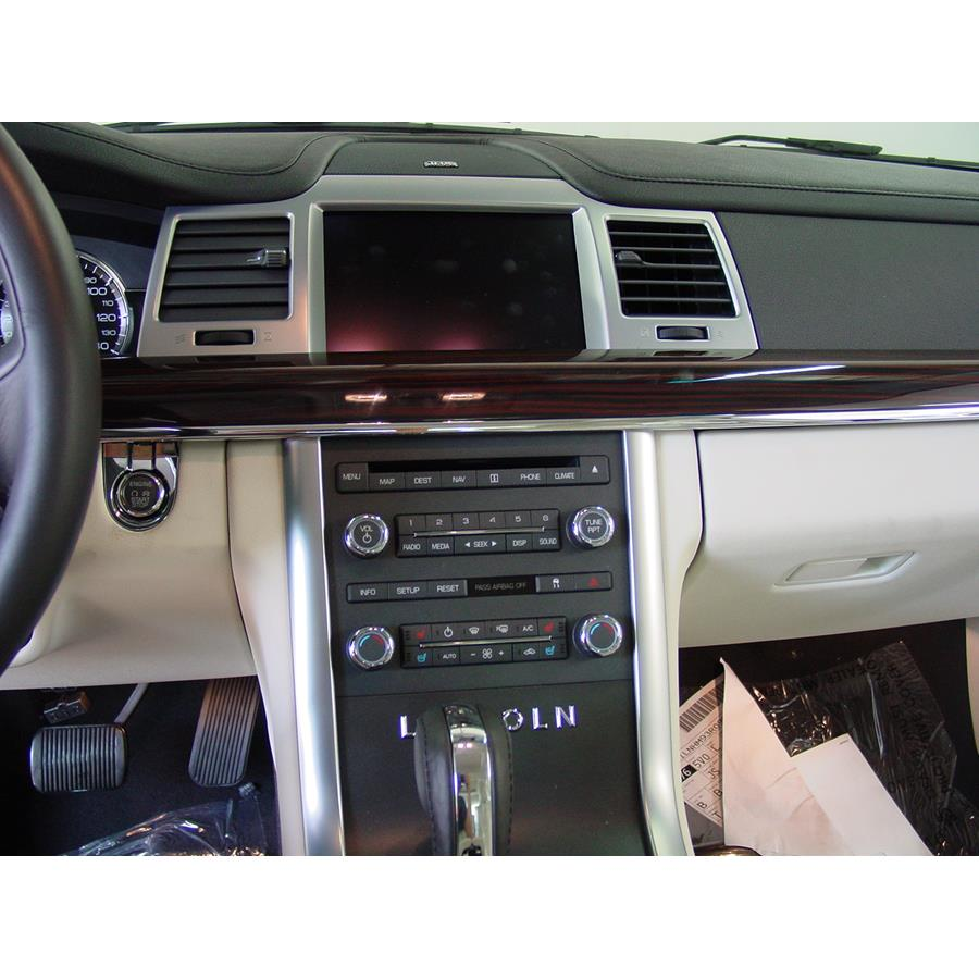 2009 Lincoln MKS Factory Radio