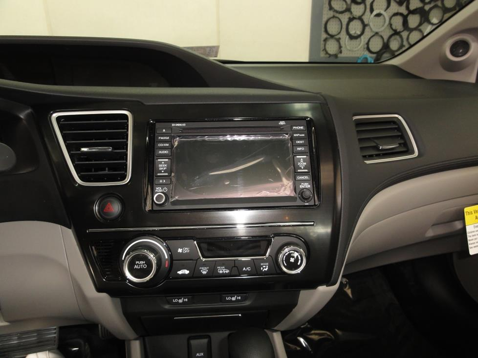 2013 honda civic radio