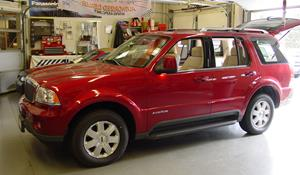 2005 Lincoln Aviator Exterior