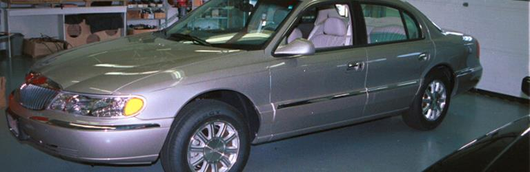 2000 Lincoln Continental Exterior