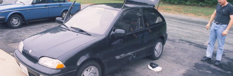 1998 Suzuki Swift Exterior