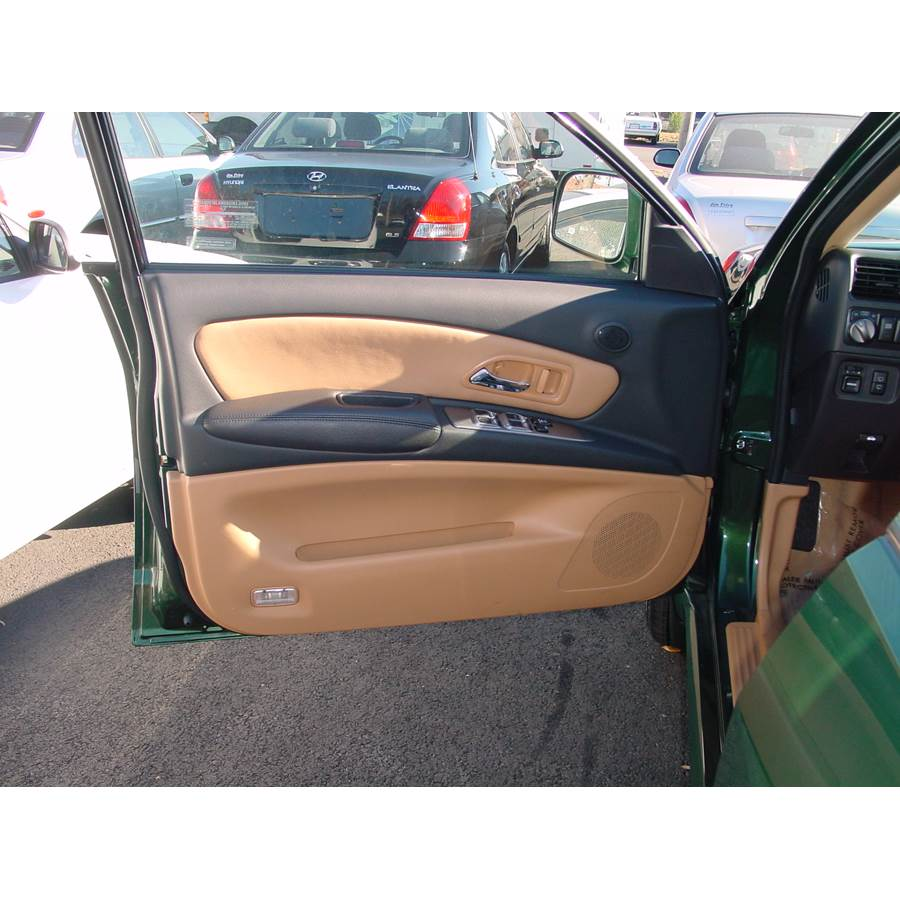 2003 Isuzu Axiom Front door speaker location