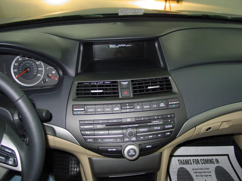 honda accord coupe radio