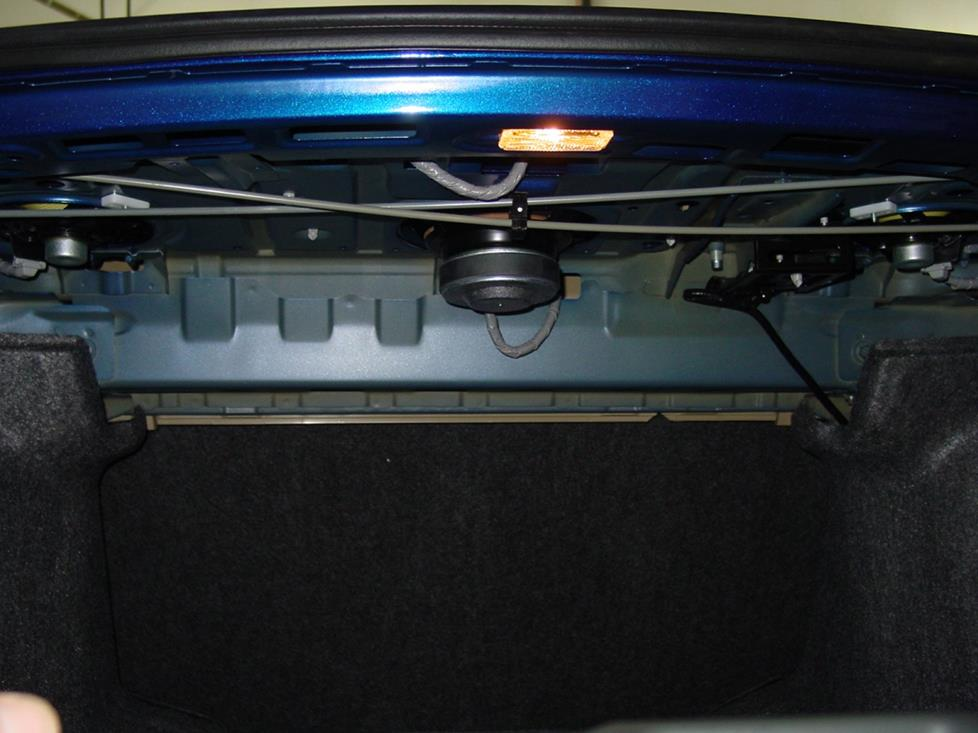 honda accord coupe rear deck subwoofer