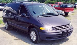 1998 Plymouth Voyager Exterior