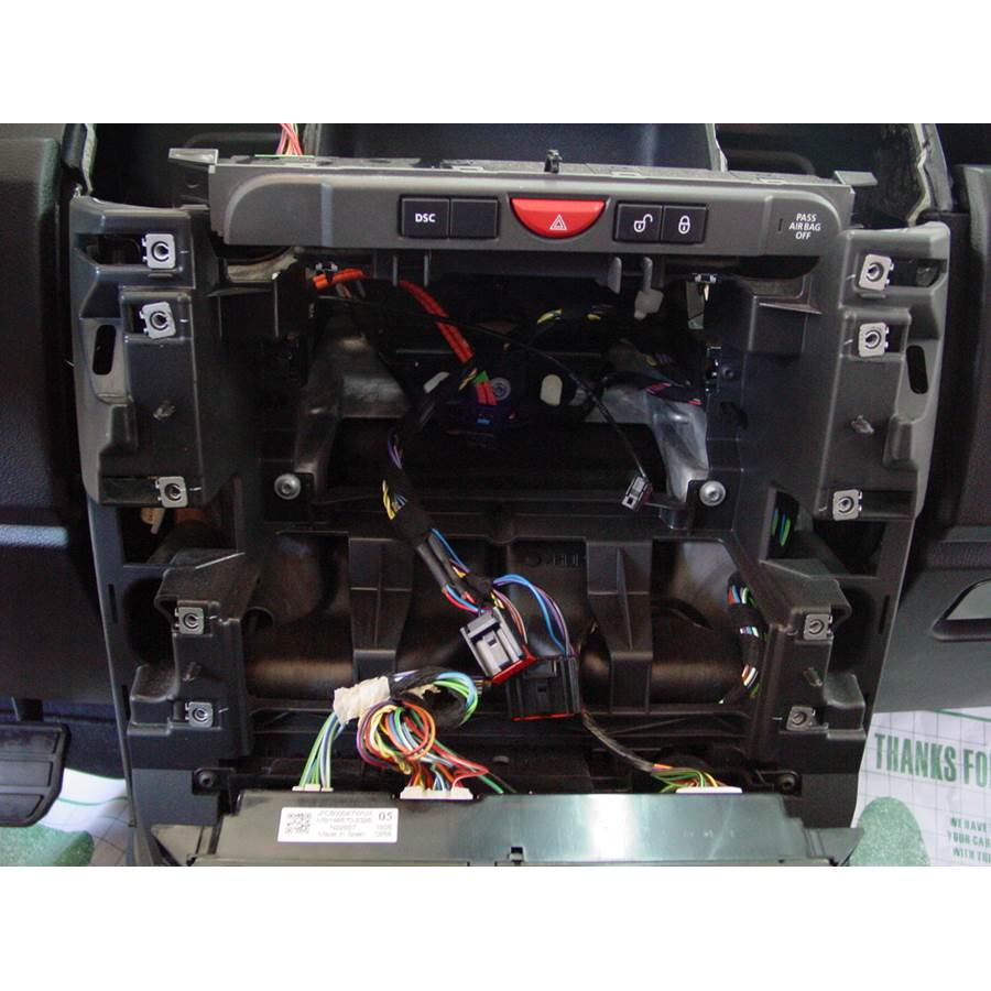 2005 Land Rover LR3 Factory radio removed