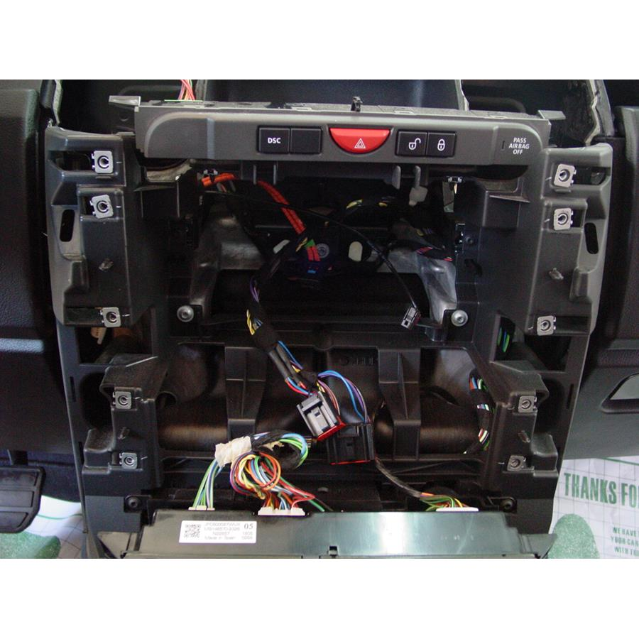 2009 Land Rover LR3 Factory radio removed