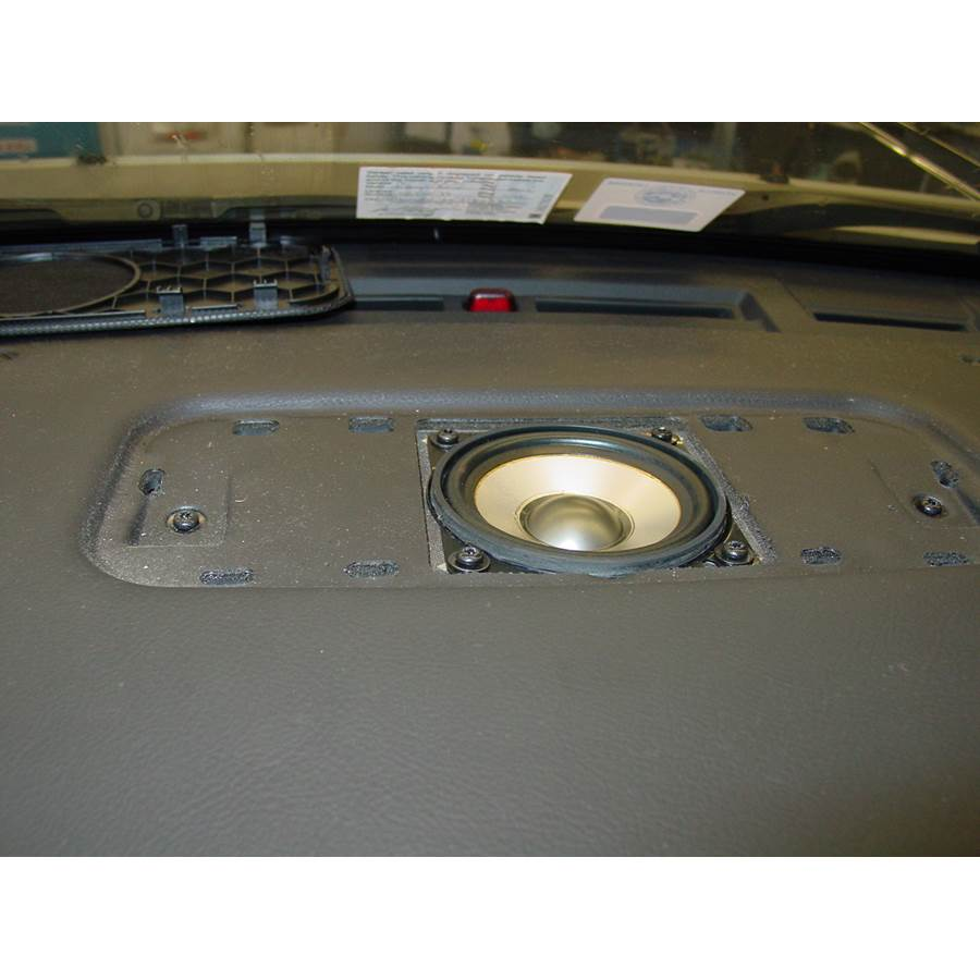 2010 Land Rover Range Rover Center dash speaker