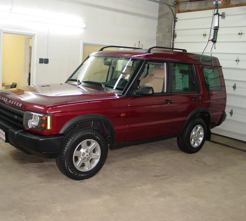 2001 Land Rover Discovery Exterior