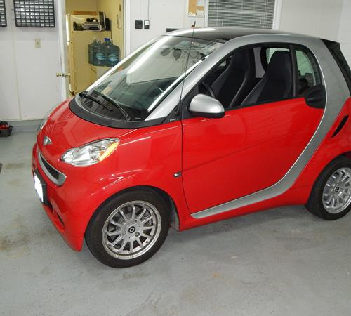 2010 Smart fortwo Exterior