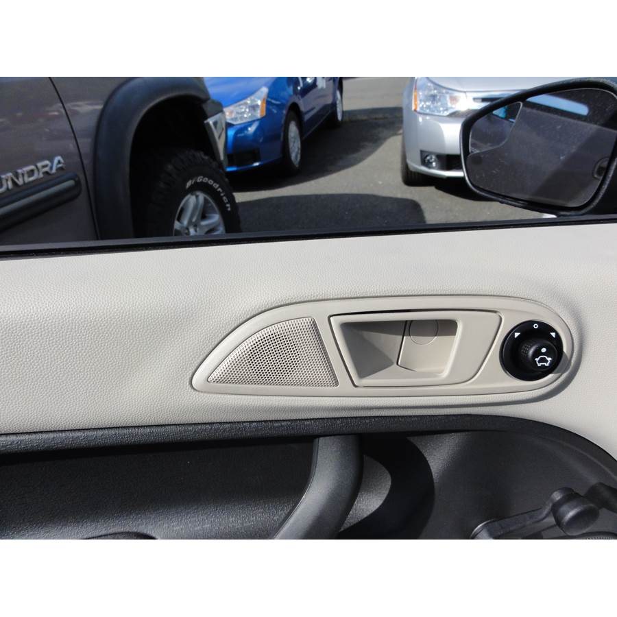 2011 Ford Fiesta Front door tweeter location