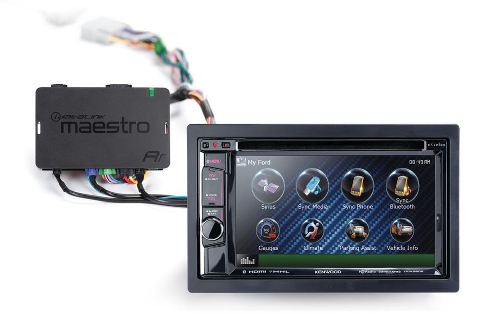 Kenwood and Maestro car stereo integration