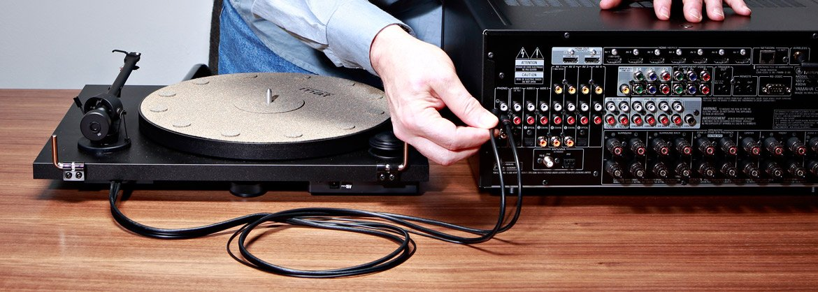 How to Connect a Turntable to a Receiver