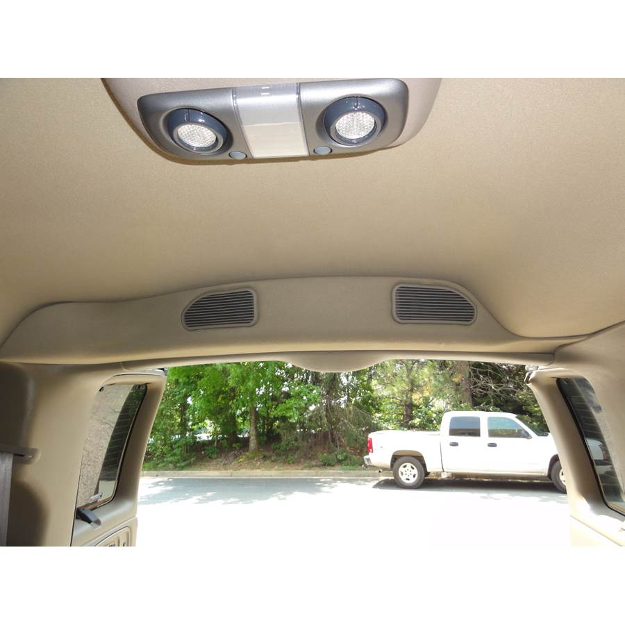 2001 Chevrolet Express Tail door speaker location
