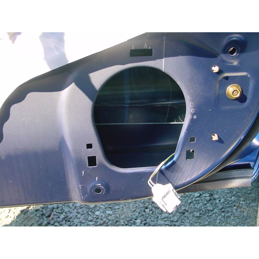 2005 Honda Civic Special Edition Front door woofer removed