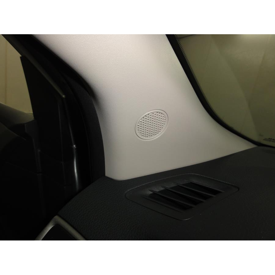 2016 Nissan Sentra Front pillar speaker location