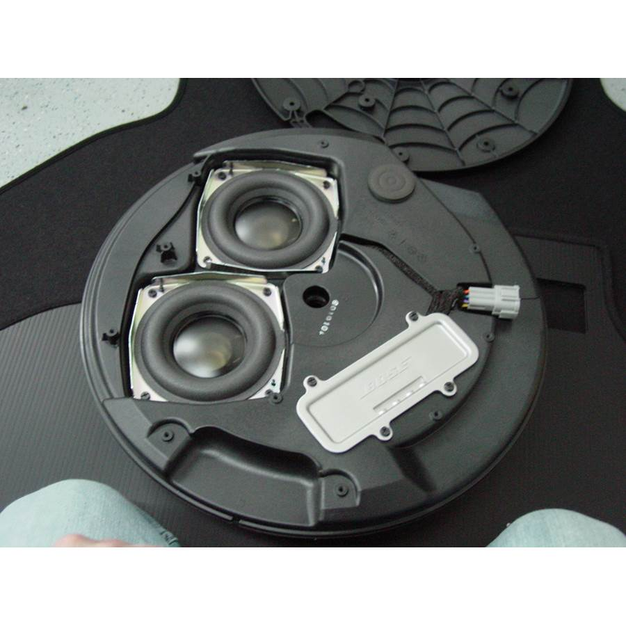 2011 Nissan 370Z Under cargo floor speaker