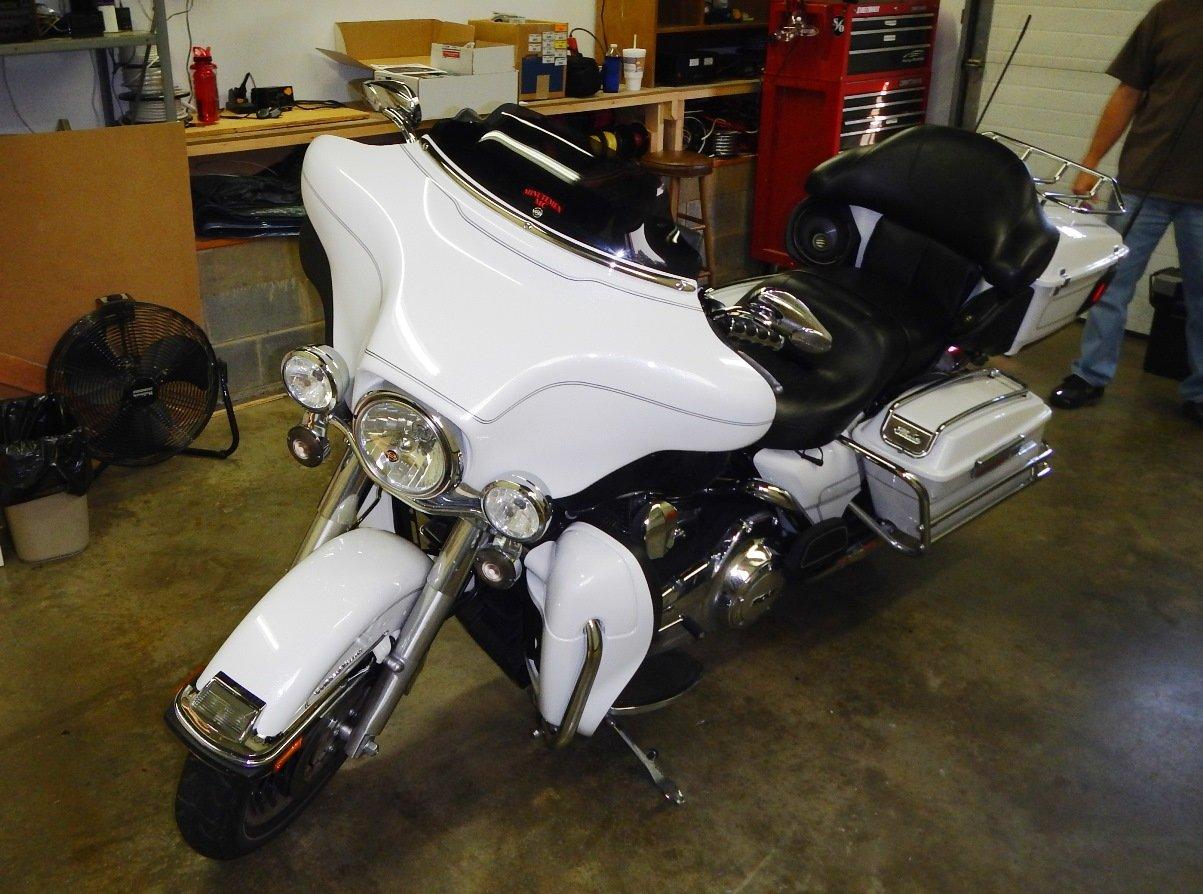 98-13 Harley Davidson FLH Touring REAR SPEAKERS SPEAKER BOX TOUR-PAK PODS POD