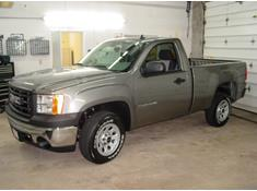 2007-2013 Chevrolet Silverado and GMC Sierra regular cab pickup
