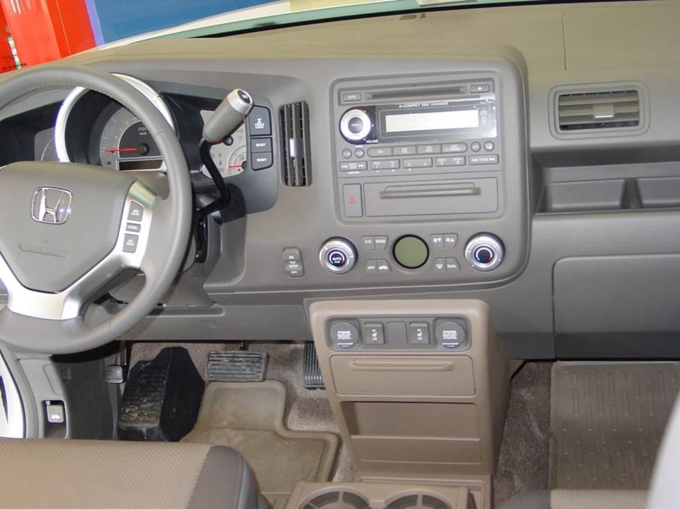 Honda Ridgeline 2017-2019 Single DIN Stereo Harness Radio Install Dash Kit New