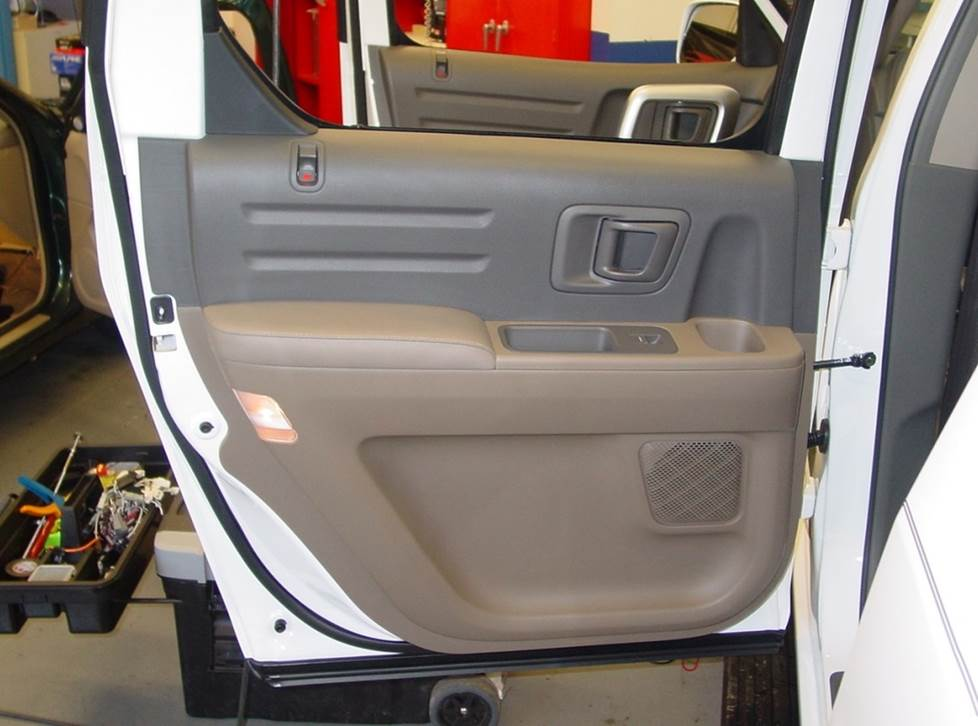 honda ridgeline rear door speakers