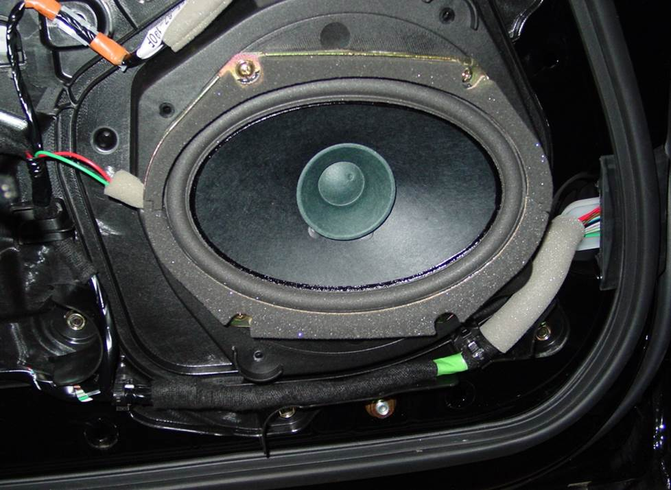 mazda miata base door speaker