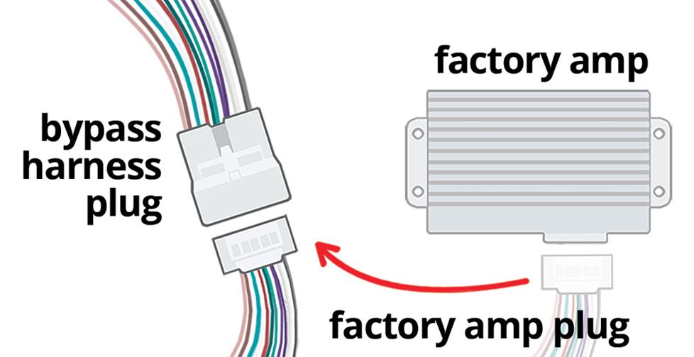 How to bypass the factory amp