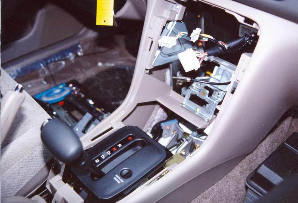 honda accord factory radio console