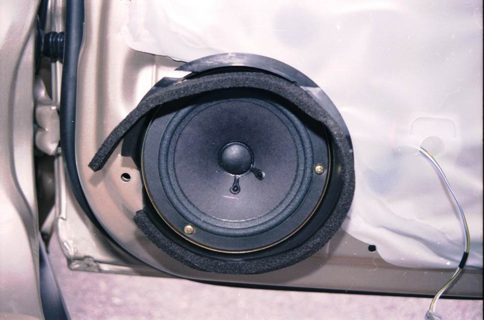 honda accord rear door speaker