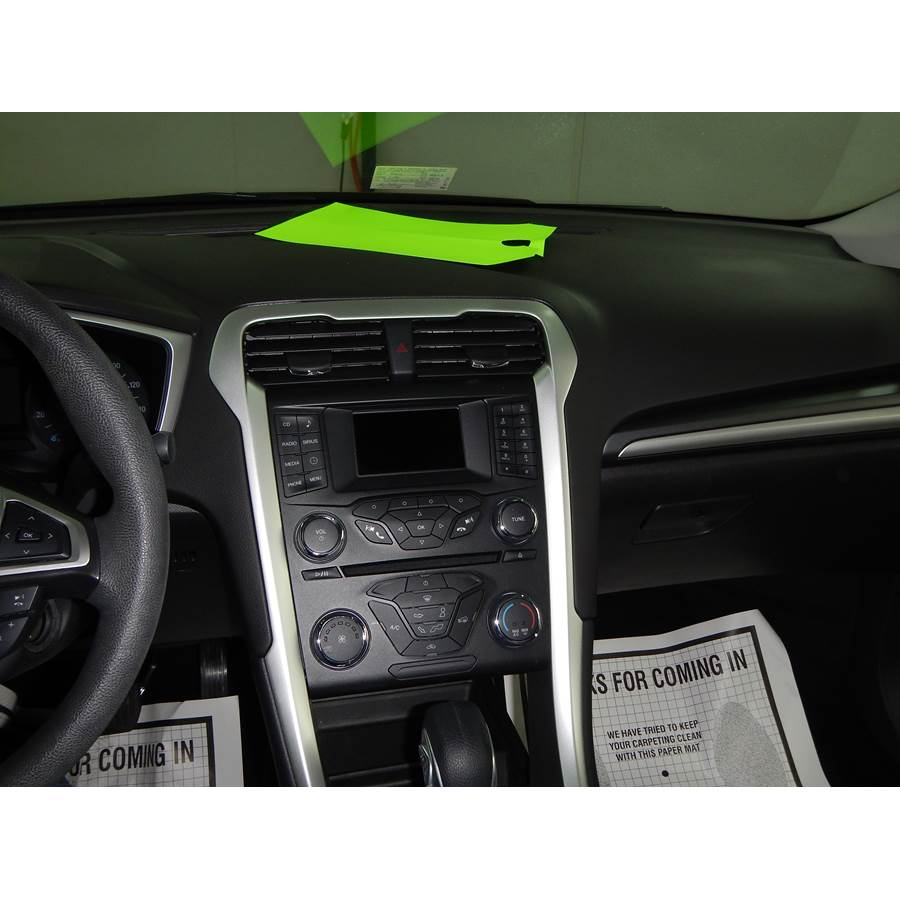 2013 Ford Fusion Factory Radio