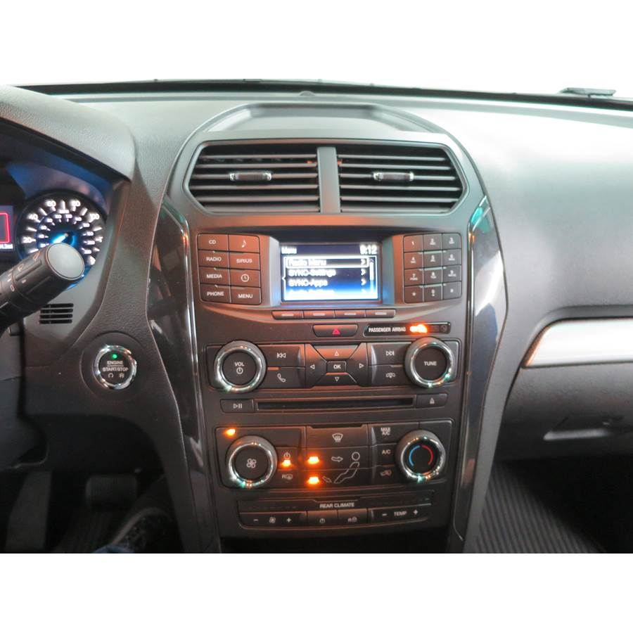 2016 Ford Explorer Factory Radio