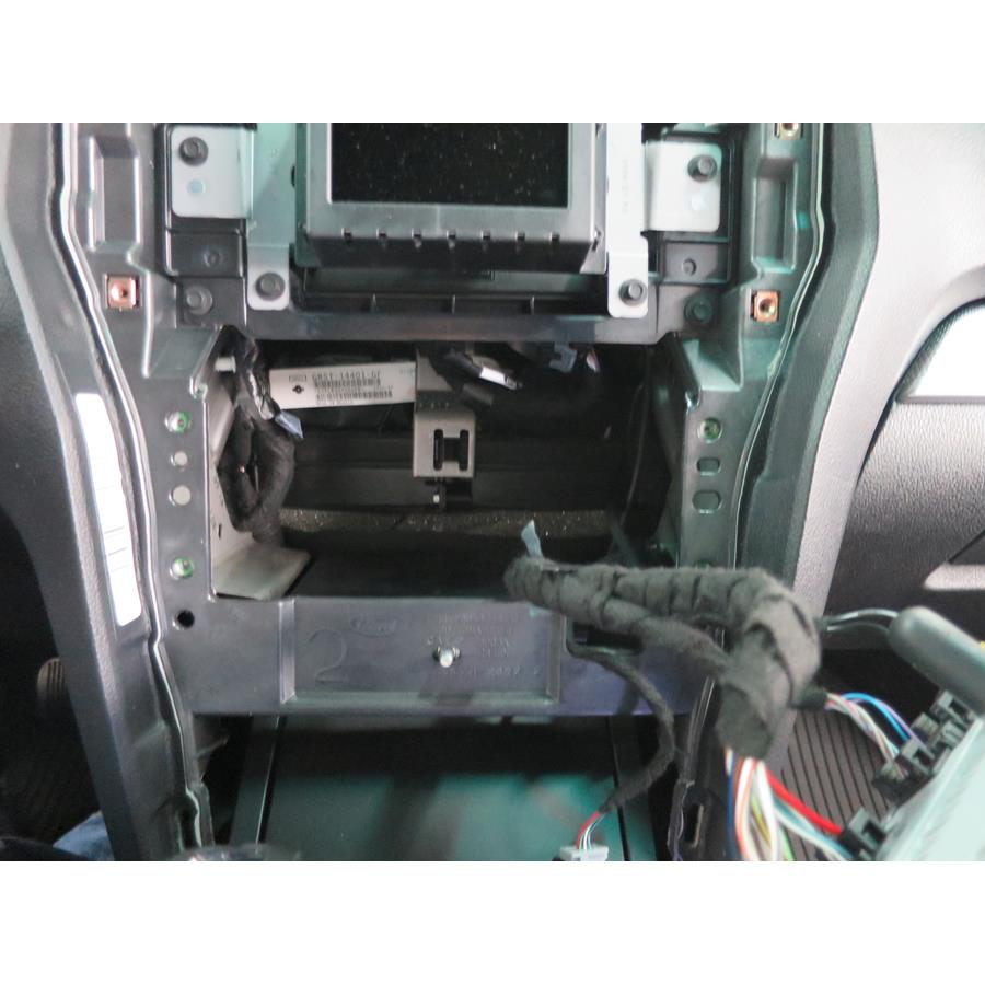 2016 Ford Explorer Factory radio removed