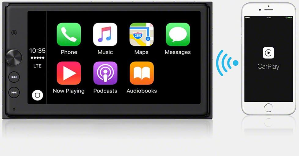 Apple Carplay goes wireless