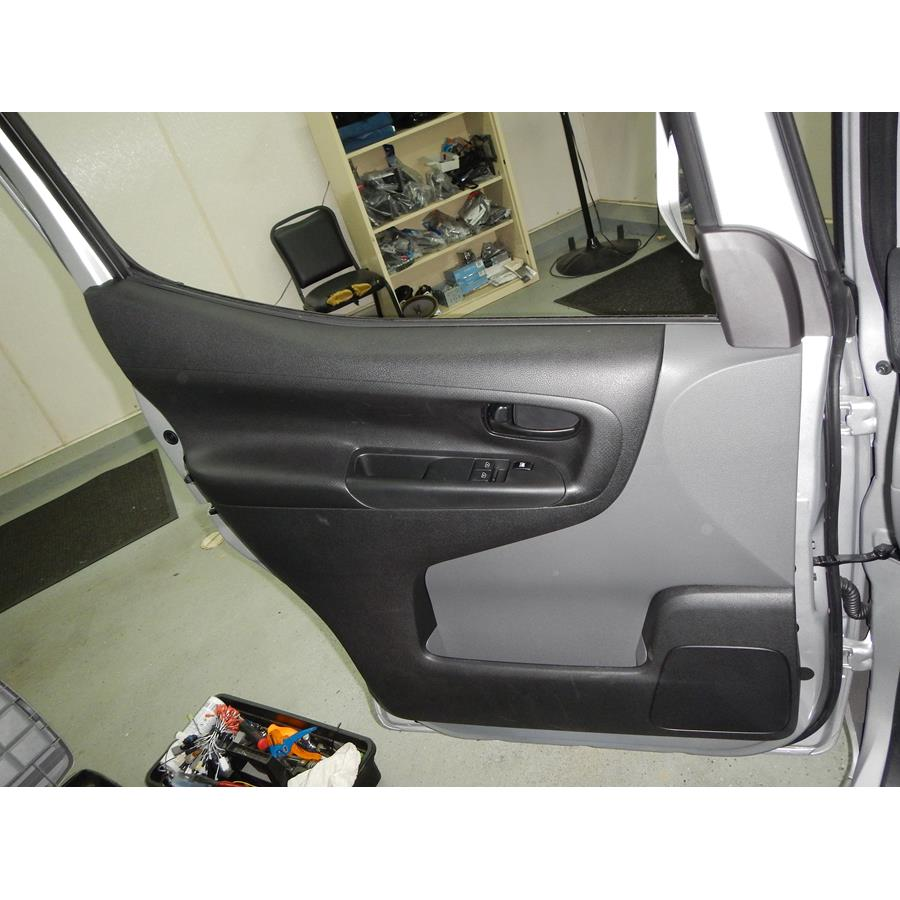 2016 Chevrolet City Express Front door speaker location