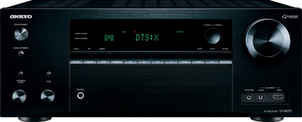 Onkyo TXNR757 7.2-channel home theater receiver