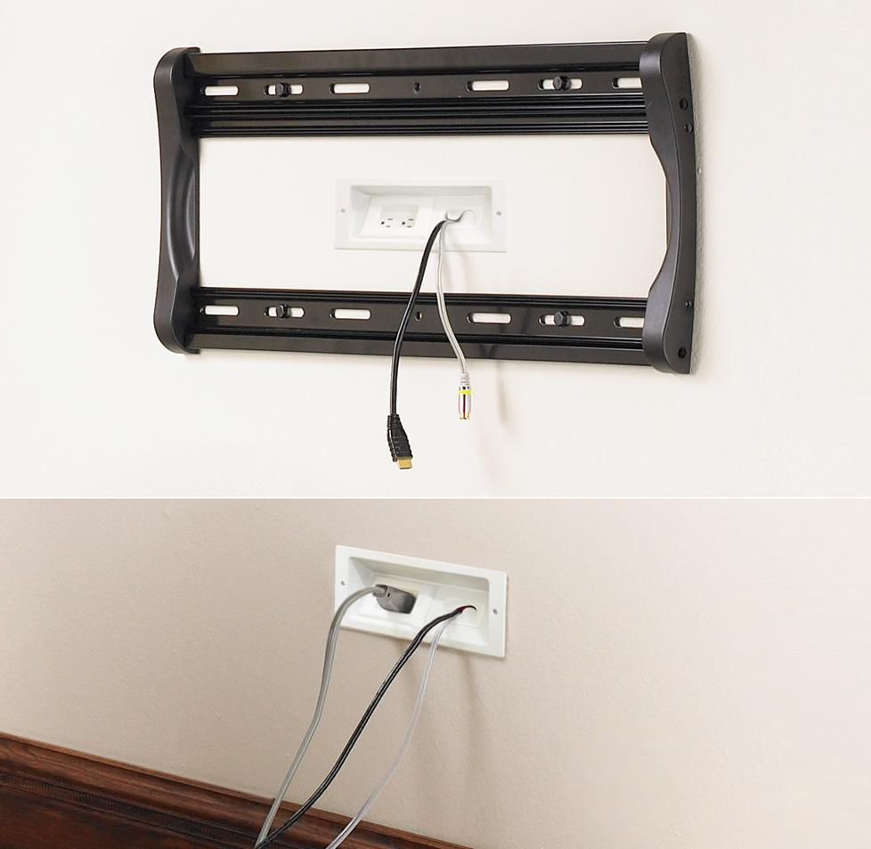 In Wall Wiring Guide For Home A V Ethernet Jack Point Tv Plate