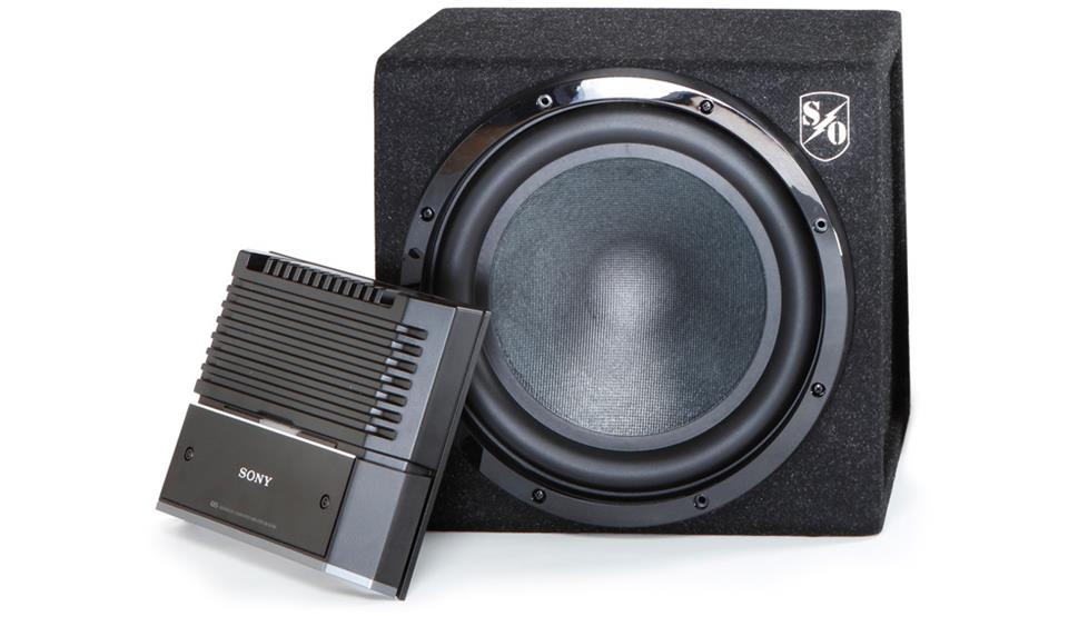 Sony sub and amp