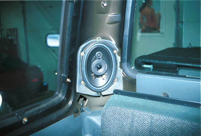 ford f-150 extended cab rear speaker