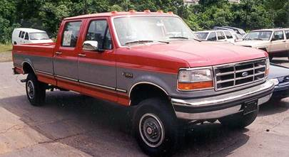 1992-1996 Ford F-Series pickups (all cabs) and Ford Bronco