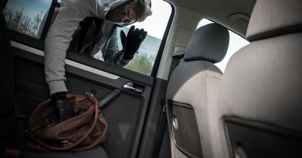 You can reduce the possibility of having your private information compromised by ensuring potential thieves can't get to your devices in your vehicle.