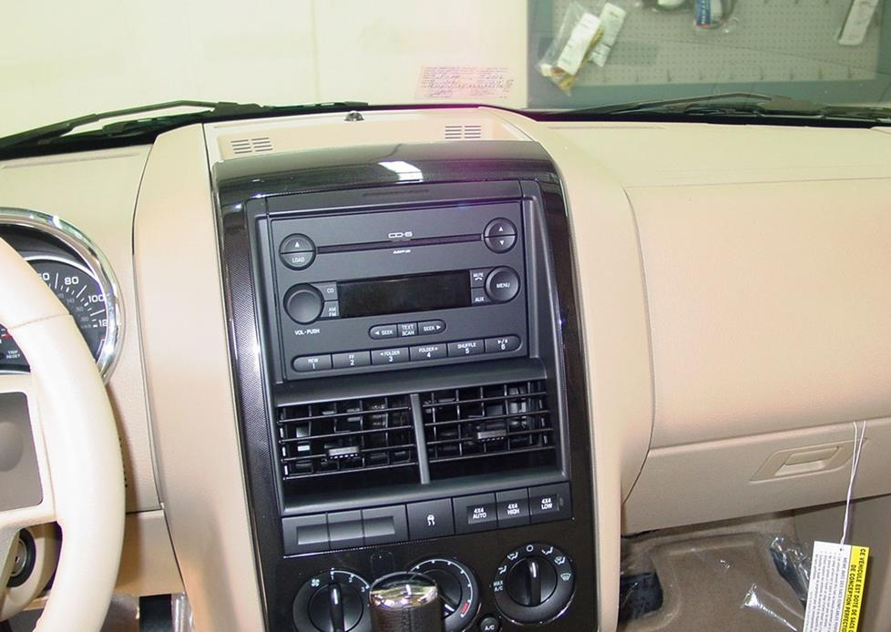 ford explorer radio