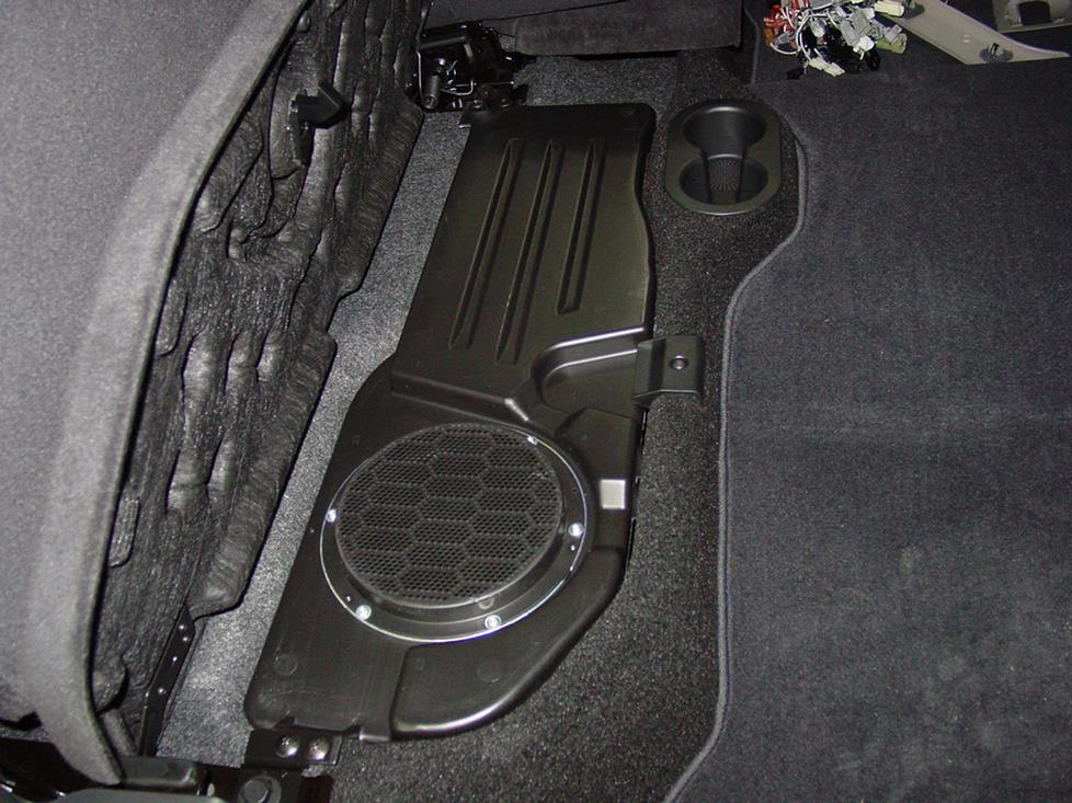 dodge ram alpine subwoofer