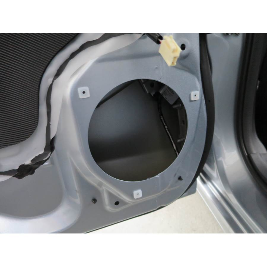 2018 Subaru Impreza Rear door speaker removed