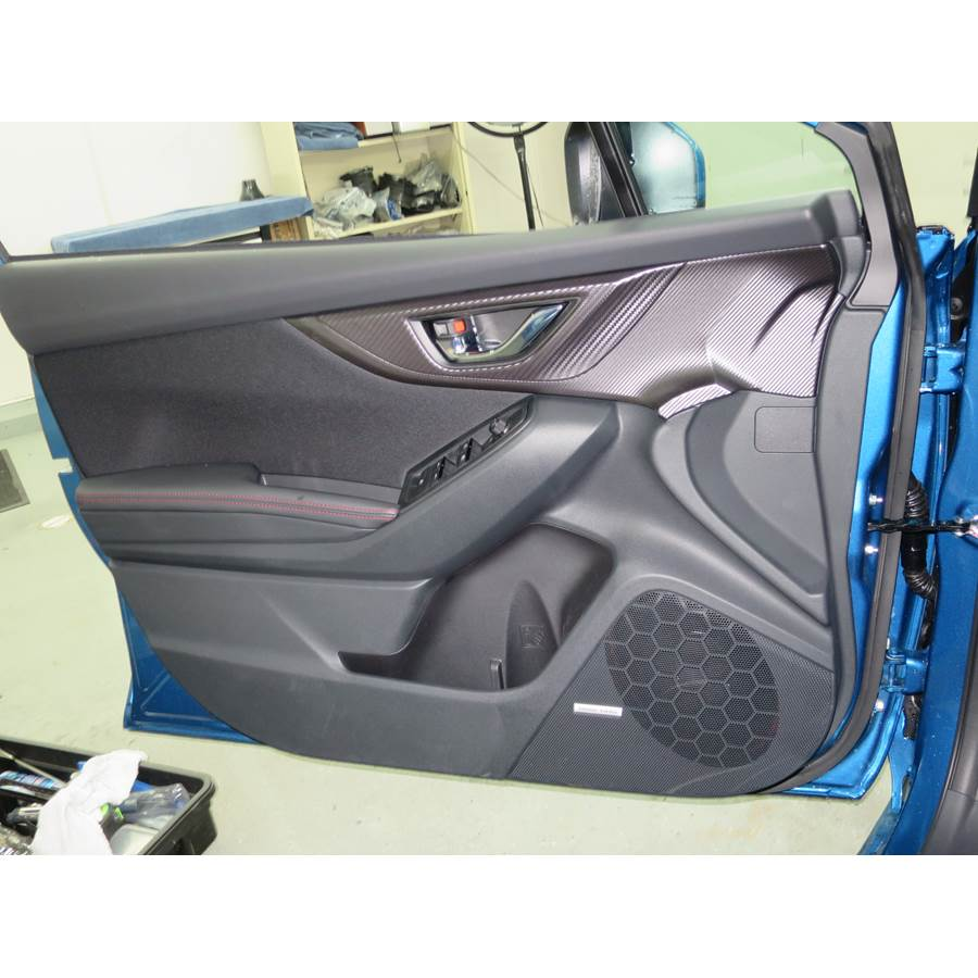 2018 Subaru Impreza Front door speaker location