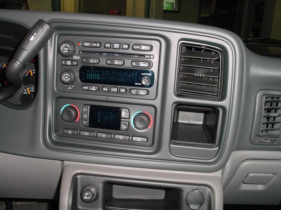 Radio on 2006 Gmc Sierra Parts Diagram