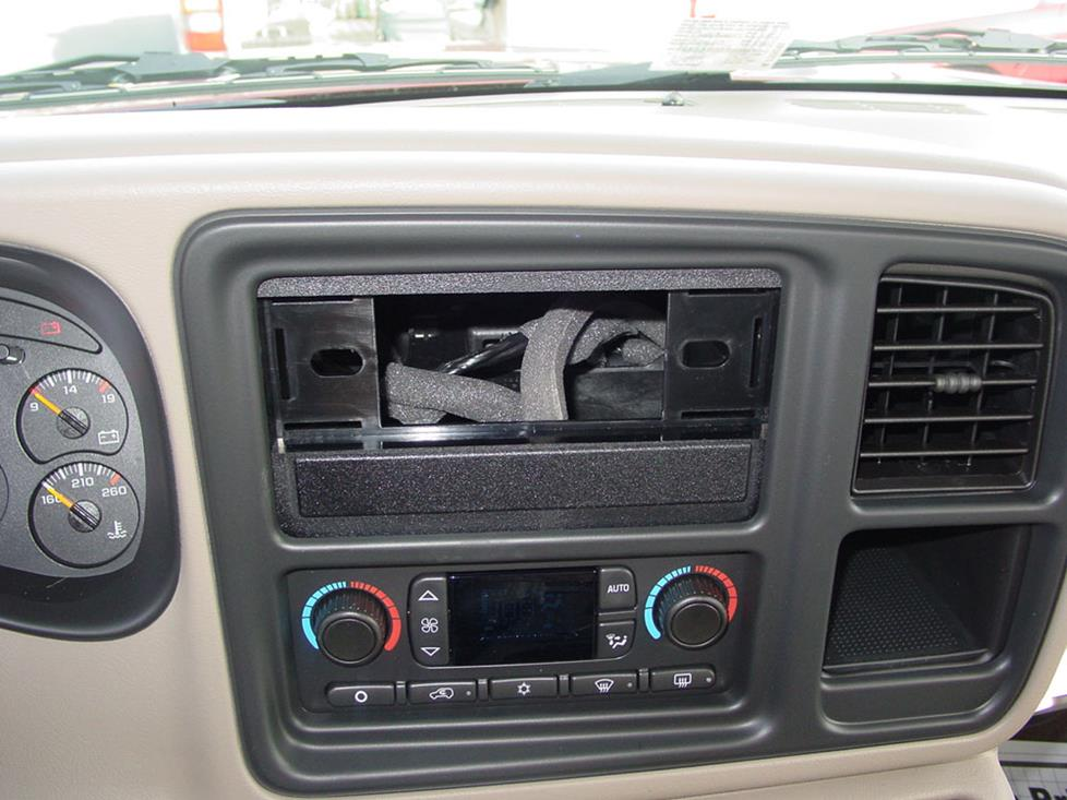 suburban yukon xl radio dash kit