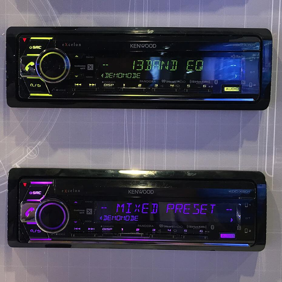Kenwood car stereos